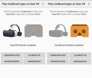 Play Cardboard apps on Gear VR – Waka Software JSC